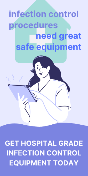 infection control procedures hospital equipment